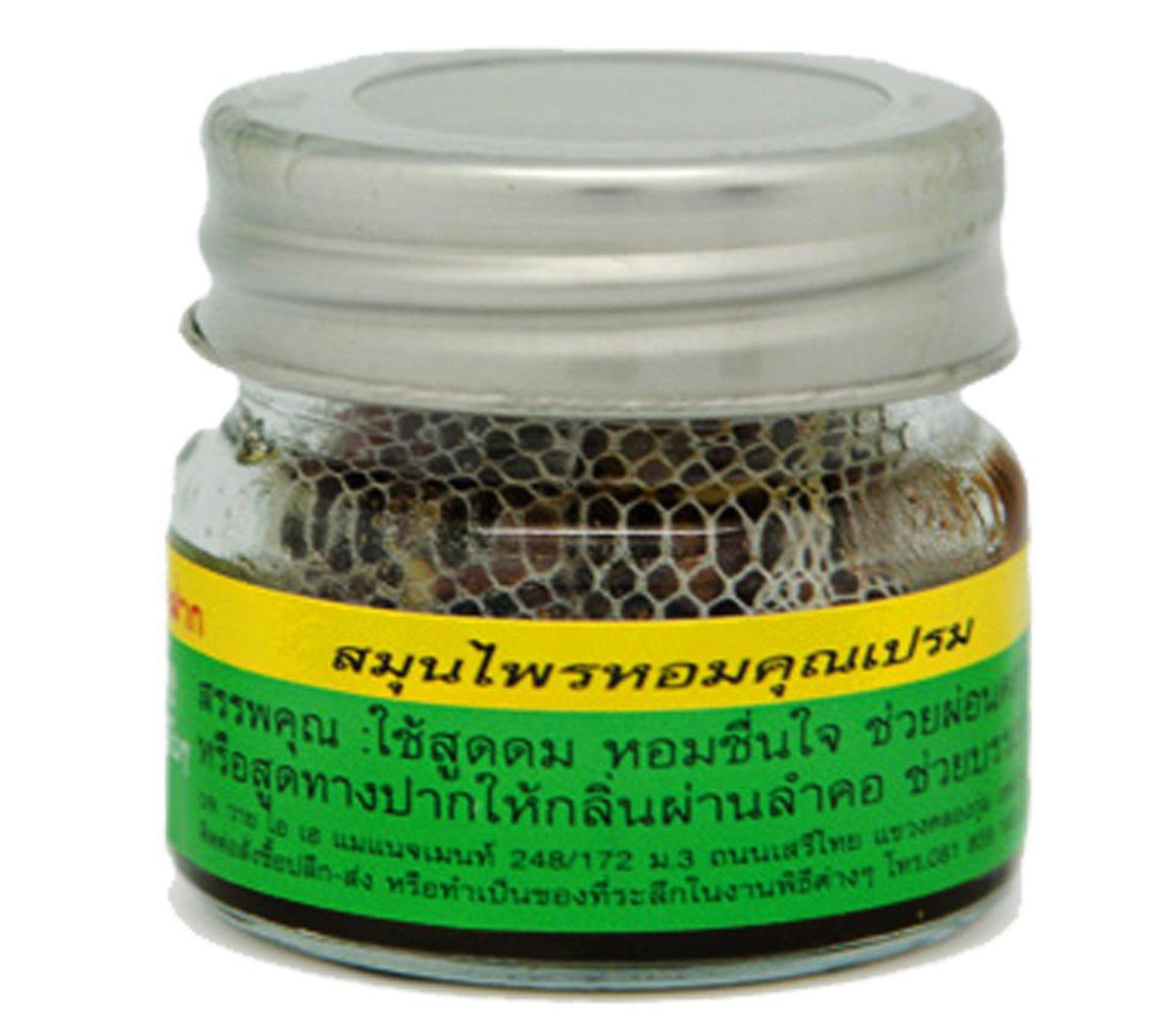 Local Thai Herbs Khun Peama Herb Thai 100 Inhalant Use Smelling Re