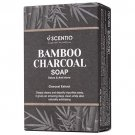Scentio Bamboo Charcoal Soap 100 g. (7 Pack)