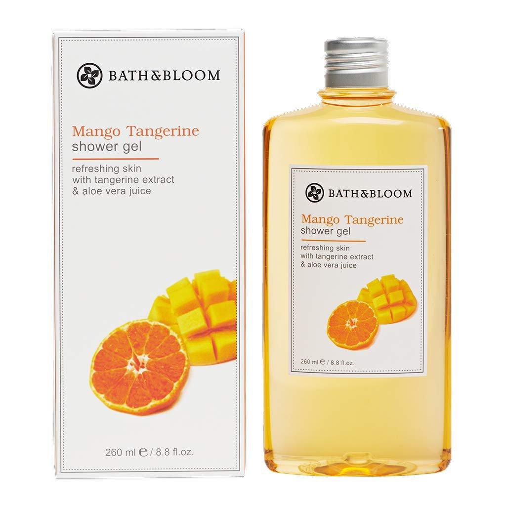 Bath&Bloom Mango Tangerine Shower Gel 260 ml/ 8.8 fl.oz. (4 Pack)