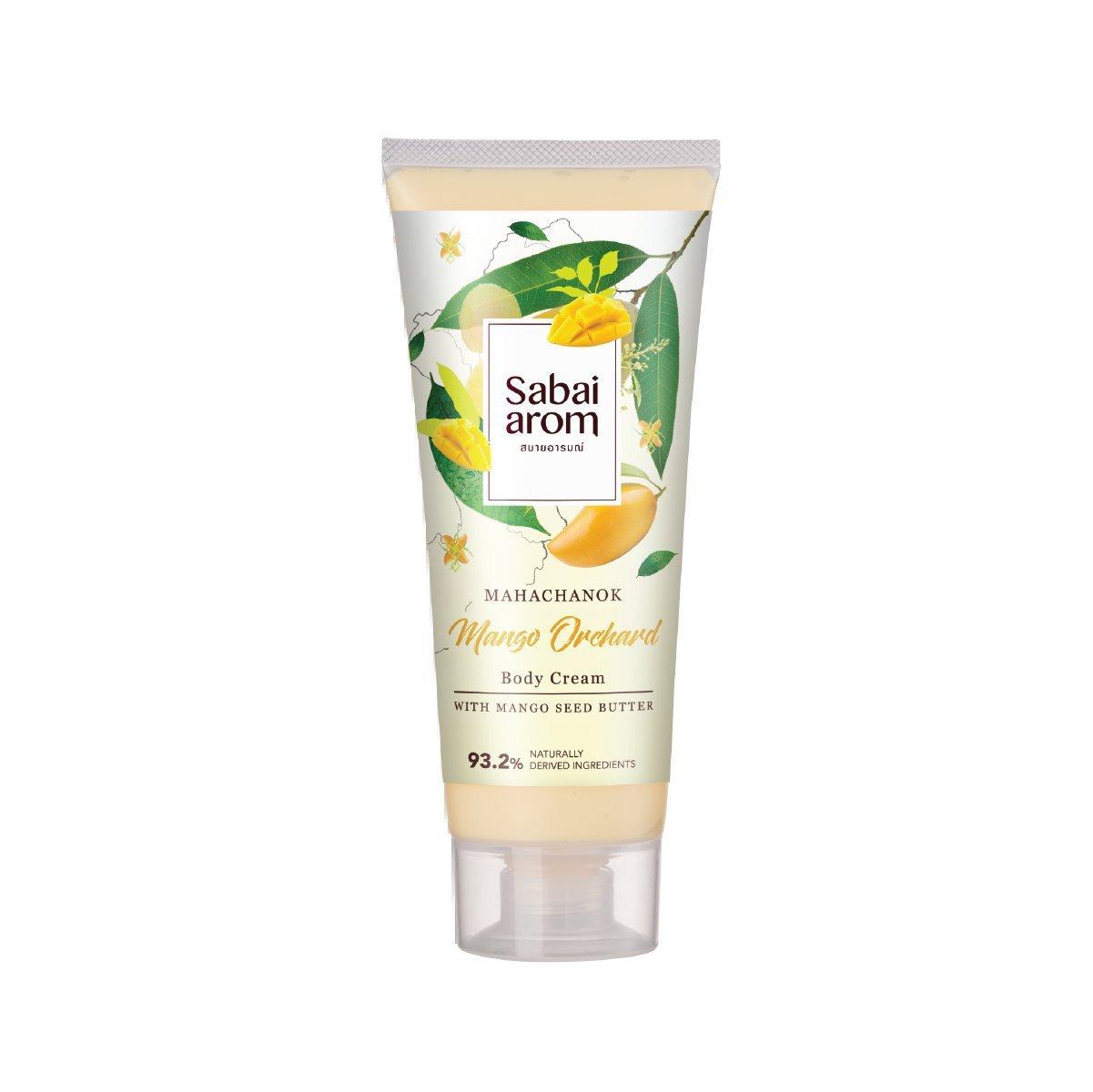Sabai-arom Mango Orchard Body Cream 200 g. (4 Pack)