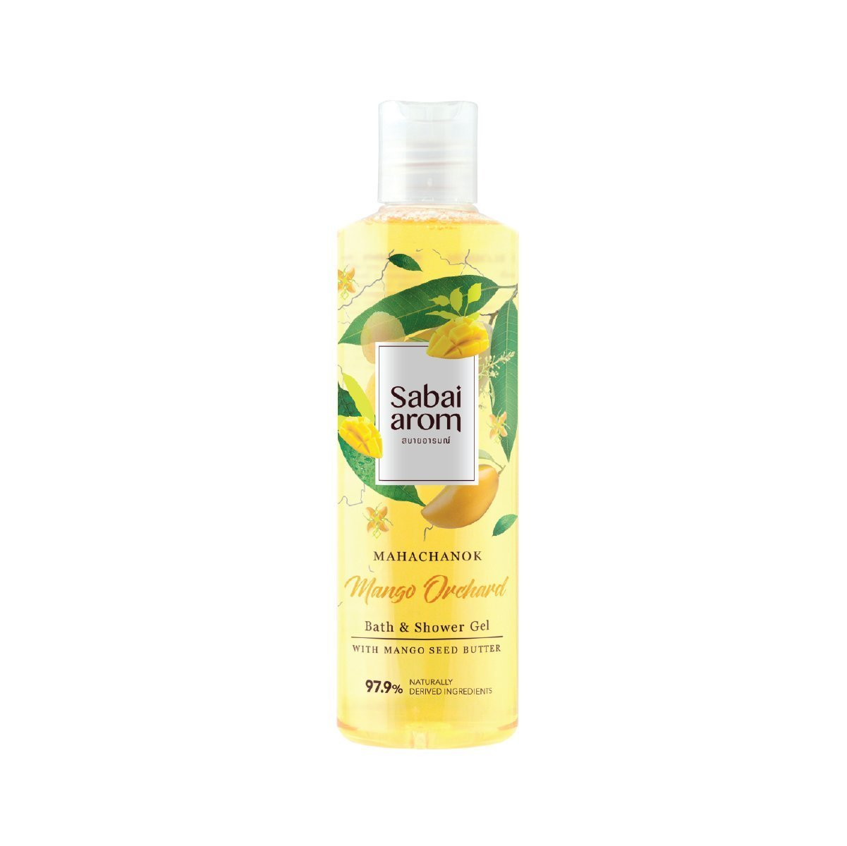 Sabai-arom Mango Orchard Bath & Shower Gel 250 ml. (4 Pack)