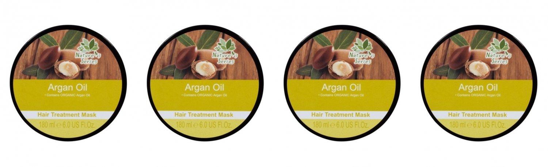 Natures Series Argan Oil Hair Treatment Mask 180 ml. (4 Pack)