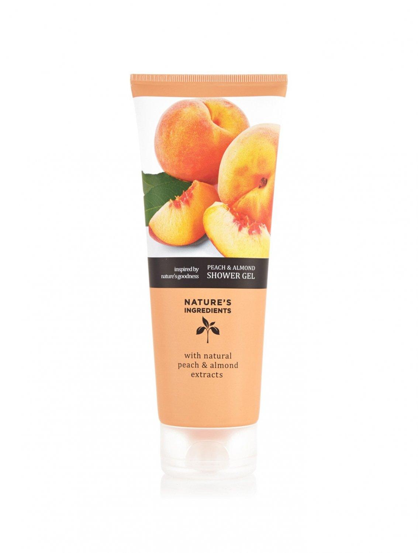 MARKS & SPENCER Peach & Almond Shower Gel 250 ml. (2 Pack)