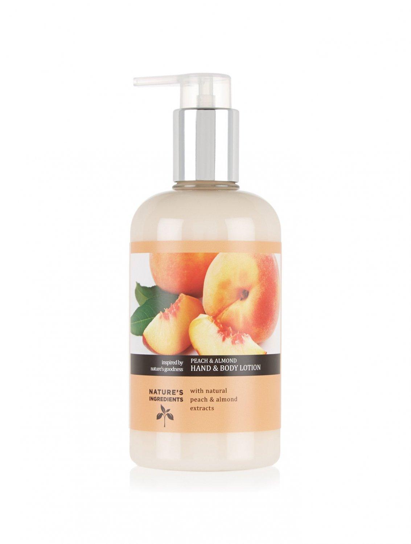 MARKS & SPENCER Peach & Almond Moisturising Hand & Body Lotion 300