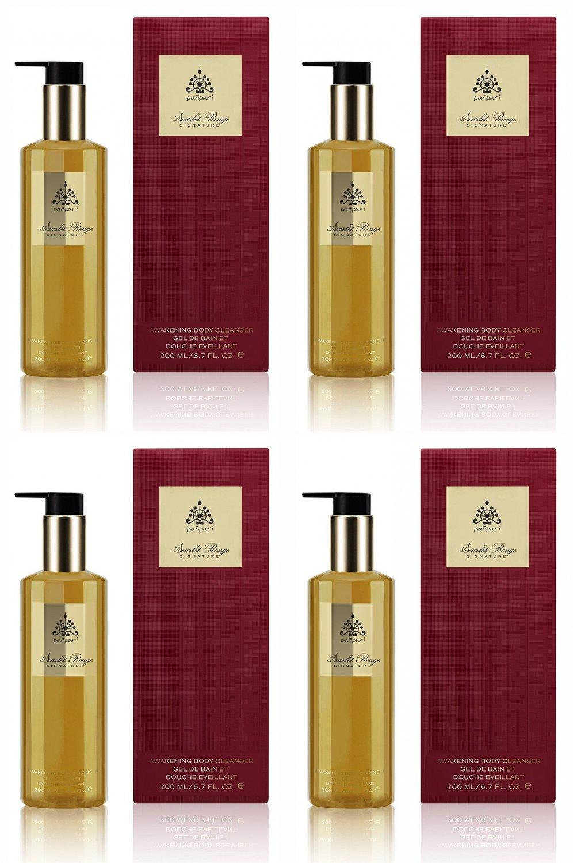 Pañpuri Scarlet Rouge Awakening Body Cleanser 200 ml. (4 Pack)