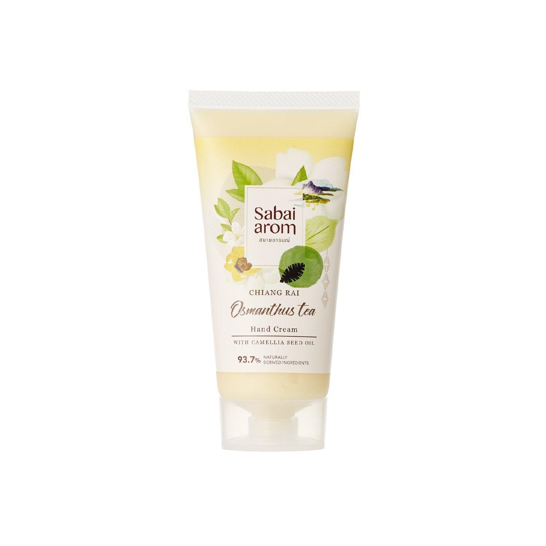 Sabai-arom Osmanthus Tea Hand Cream 75 g. (4 Pack)