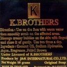 6 x K Brothers Soap Face Skin USA Soap Whitening Anti Melasma D