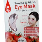 4 packs of Tomato & Gluta Eye Mask from natural. Baby Bright (2