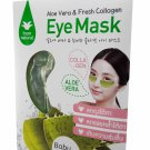 4 Packs of Aloe Vera & Fresh Collagen Eye Mask From Natural. Ba