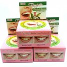 6 CLOVE TOOTHPASTE WHITENING TEETH ANTI BACTERIA THAI HERBAL