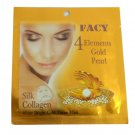Facy 4 Elements Gold Pearl Silk Collagen Mask 21 Ml 3 Pack