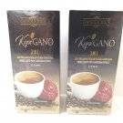 2 BOXES OF GANO EXCEL GANO CAFE 3-IN-1 ENRICHED COFFEE WITH GANODE