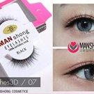 X3 MAN SHONG COSMETIC EYELASHES 100 NATURAL HAIR BLACK Eyelashes3D /0