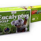 X4 COUNTRY LIFE EUCALYPTUS SOAP FRESHENS&CLEANS YOUR SKIN 100g