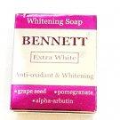 Bennett Whitening Soap, Extra White, 4.33 Oz. [ Pack of 2]