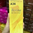 A36 Deep Golden Blonde Berina Permanent Hair A1-A47 Colors Cream Hair