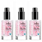 3 Bottles ODBO Chic Pearl illuminating Touch Pre - Make up Base