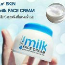 Le'SKIN milk FACE CREAM Smooth radiant skin glowing aura Reduce dark