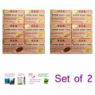 2 Units of 6 BARS X USA Super Baby Face Whitening Soap By K.