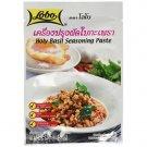 Lobo brand Thai Holy basil seasoning paste - 1.76 oz each 5 pac