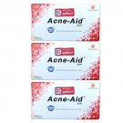 3 x STIEFEL ACNE AID SOAP BAR DEEP PORE CLEANSING PIMPLE OILY S