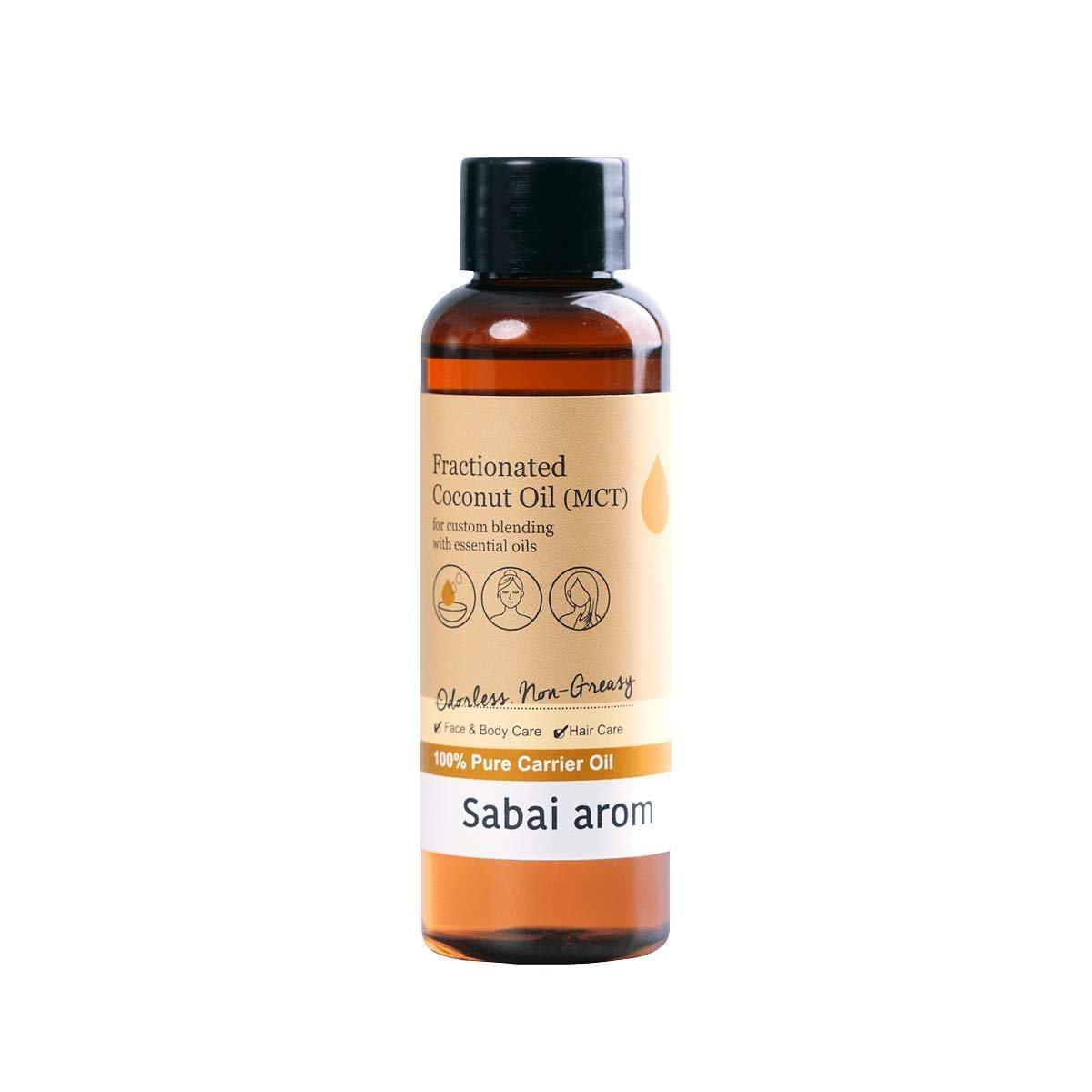 SABAI AROM Fractionated Coconut Oil 117 g. (2 Pack)