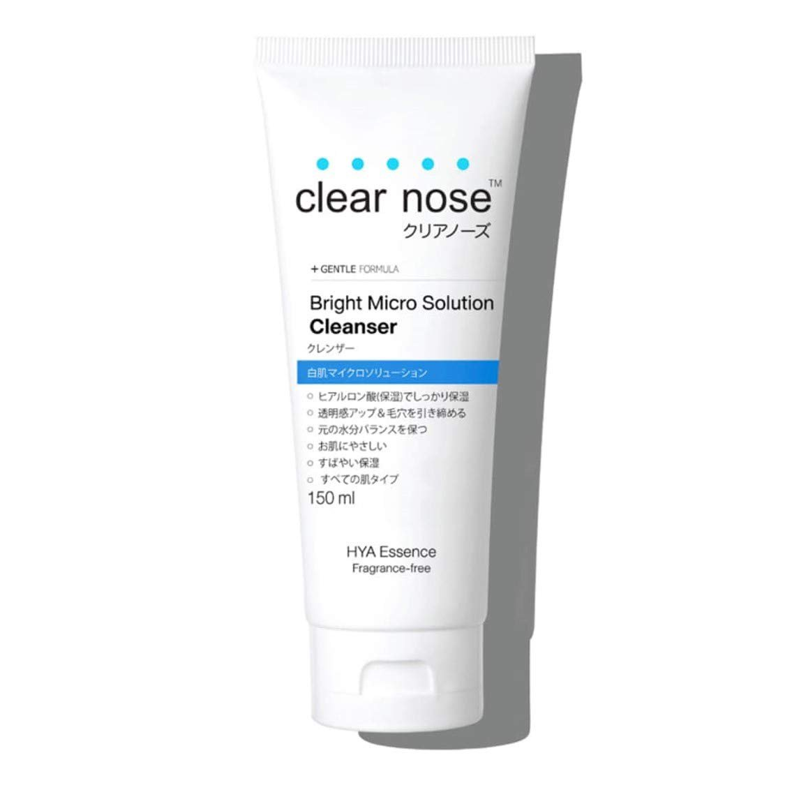 CLEAR NOSE Bright Mirco Solution Cleanser 150 ml. (4 Pack)