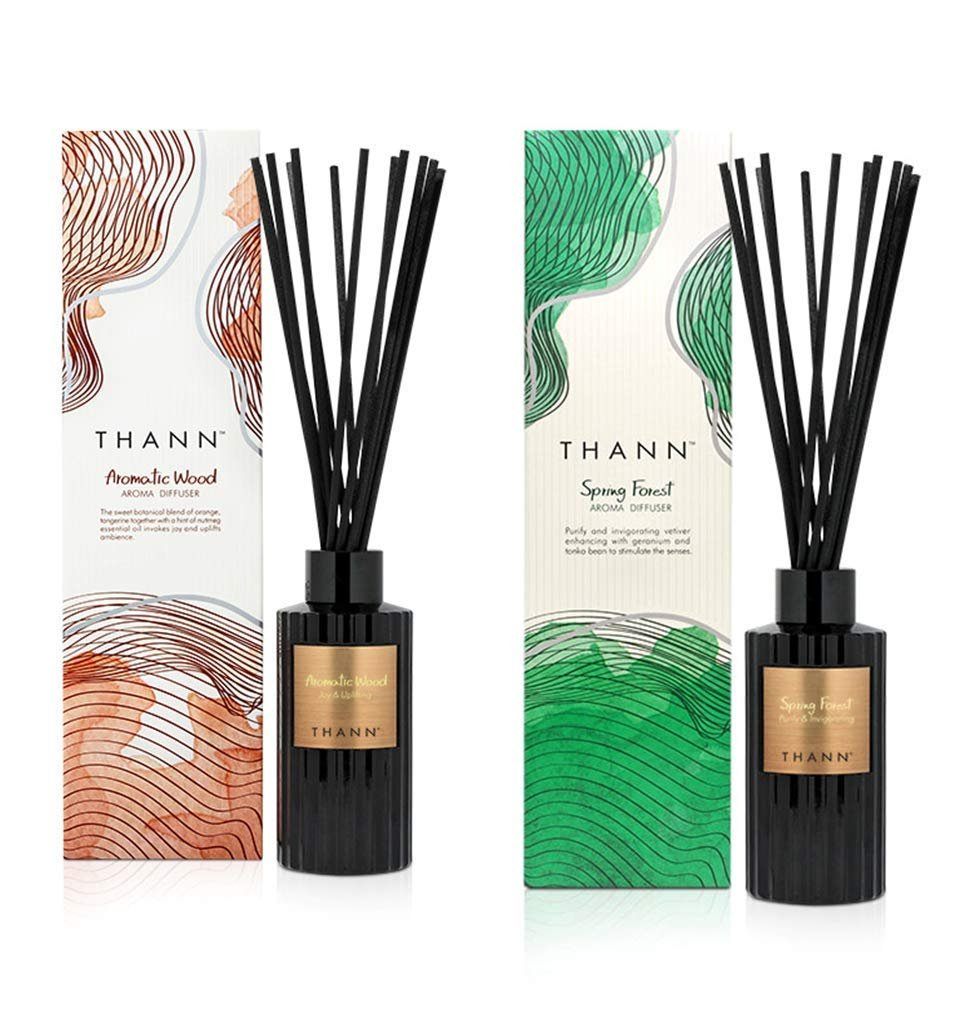 THANN Aromatic Wood Aroma Diffuser 150 ml. THANN Spring Forest Aroma