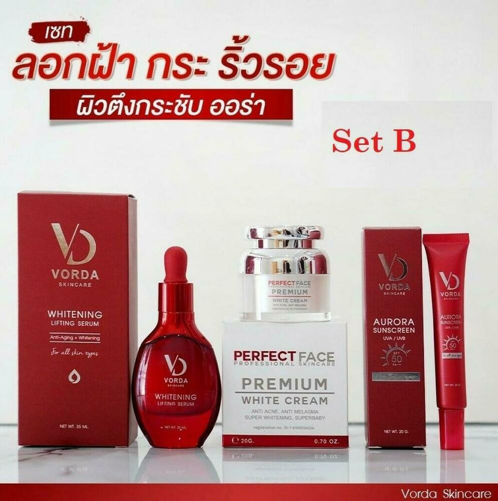 VORDA Whitening Lifting Serum Radiant facial skincare Reduce freckles Se