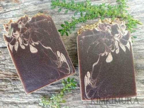 6X Handmade Neem Soap Natural Oils With Cinnamon Nourish cleaning fac