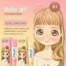 B2 BABY GIRL Sunscreen MakeUP Foundation Matt SPF 50 PA plus plus