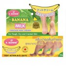 A Bonne Banana Milk Baby Foot Creacked Heel Cream For Rough Dry
