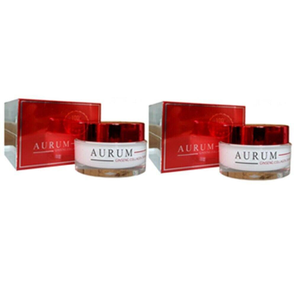 2X Aurum Ginseng Collagen Cream SPF50 PA plus plus plus Anti Aging