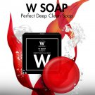 W Soap Wink White Perfect Deep CleanScrub Skin appears Radiant Reduce