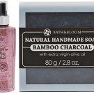 BATH & BLOOM A WALK IN WATSONS BATH & BLOOM BAMBOO CHARCOAL SOAP SET A79 NEW!! DHL EXPRESS [GET FR