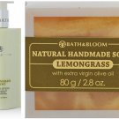 NEW!! BATH & BLOOM LEMONGRASS SOAP 80G BATH & BLOOM LEMONGRASS MINT BODY SET A71 WATSONS DHL EXPRE