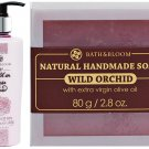 BATH & BLOOM A WALK IN NEW!! BATH & BLOOM WILD ORCHID SOAP WATSONS SET A52 DHL EXPRESS [GET FREE T