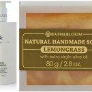 BATH & BLOOM THAI JASMINE BODY WATSONS BATH & BLOOM LEMONGRASS SOAP 80G NEW!! SET A48 DHL EXPRESS