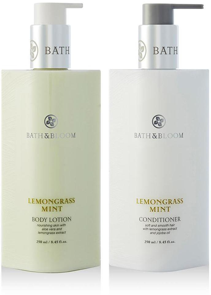 BATH & BLOOM LEMONGRASS MINT BODY SET A82 BATH & BLOOM LEMONGRASS MINT CONDI NEW!! WATSONS DHL EXP