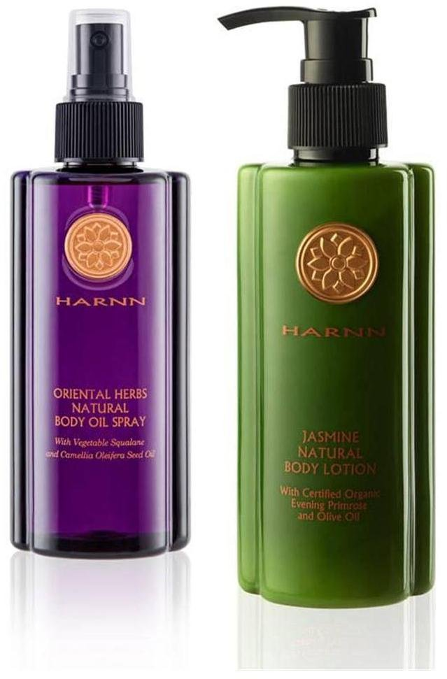 HARNN ORIENTAL HERBS NATURAL BODY NEW!! HARNN JASMINE NATURAL BODY LOTION WATSONS SET A45 DHL EXPR