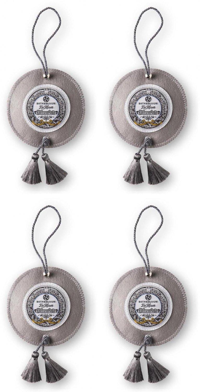 SET A95 BATH & BLOOM DECEMBRE (DECEMBER) CLOTH BAG SCENTED SAC   (PACKS OF  4 )