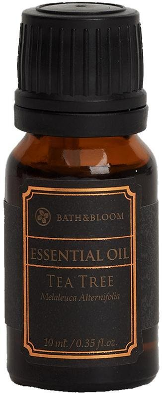 DHL EXPRESS BATH & BLOOM TEA TREE ESSENTIAL OIL 10ML SET A84 NEW!! (PACKS OF  1 )