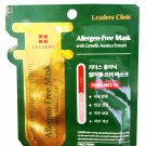 2 Mask Sheets of Leaders Clinic Allergen-Free Mask With Centella Asia