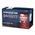 3x Donutt Collagen for Men M Plus 15000 Grape Flavour 15g. Pack