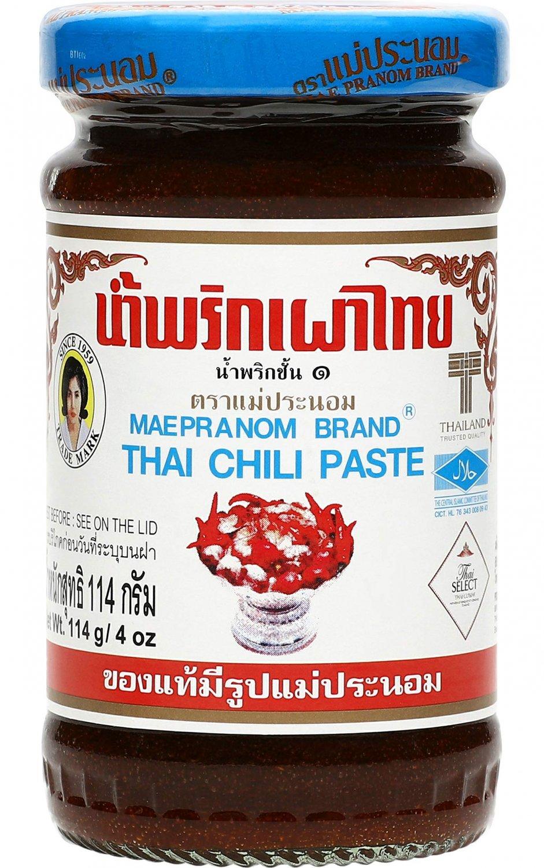 Mae Pranom Thai Tom Yum Chili Paste for Tom Yum Soup 114g (4