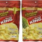 King Fruit - Vacuum Freeze Dried Durian Fruit - 7 Oz (Monthong