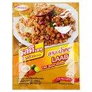 RosDee menu Thai Spicy Minced Meat, LAAB-NAMTOK Sauce Powder 30g X