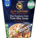 3x Blue Elephant brand Royal Thai Cuisine TOM KHA SOUP PASTE Wt.