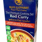 Blue Elephant brand Royal Thai Cuisine RED CURRY Cooking Set Wt. 9