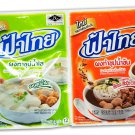 Fathai Instant Clear Soup Powder 75 g.( 1 Pack ) and Fathai Ins